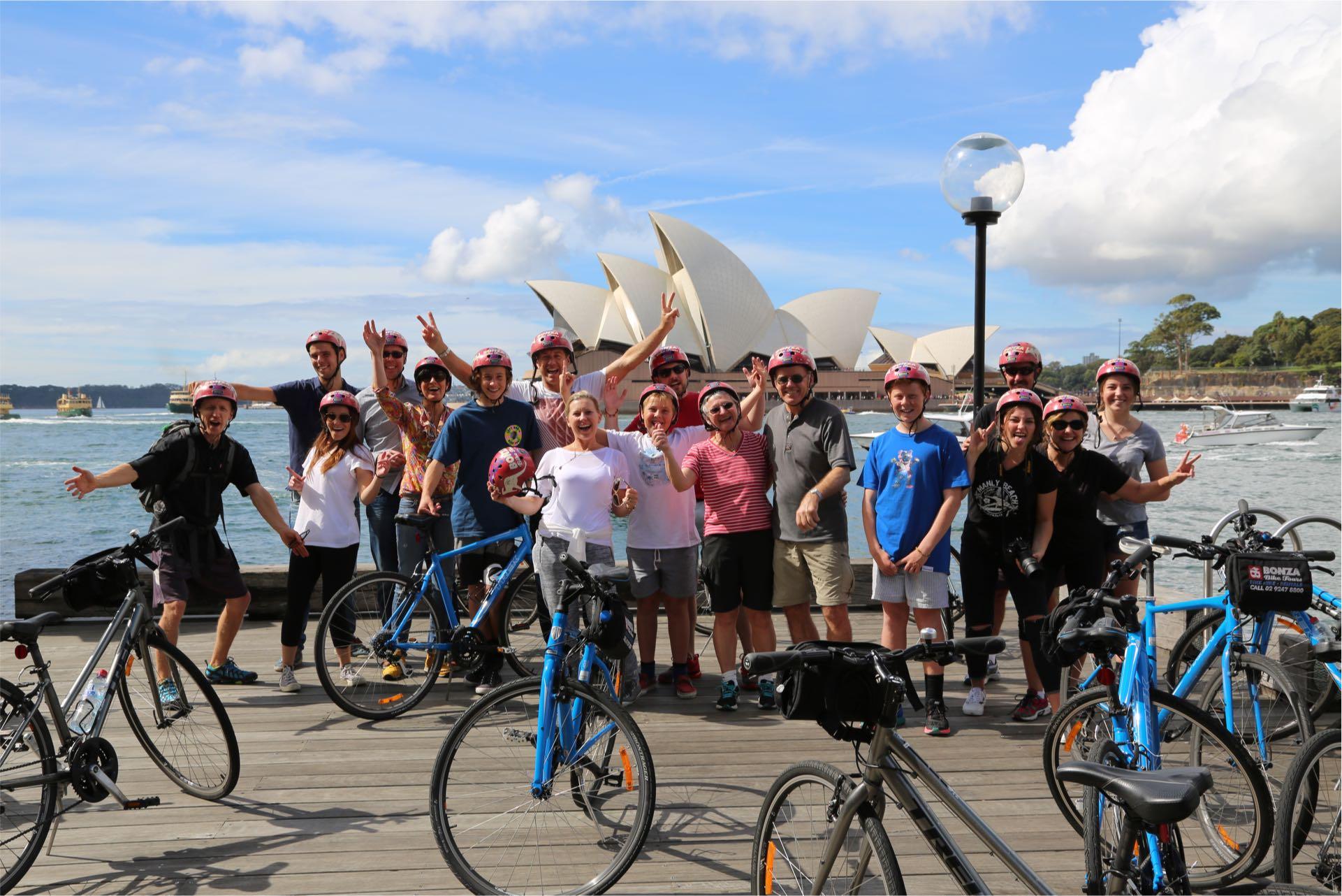 Sydney Bike Tours The Rocks Nsw Australia